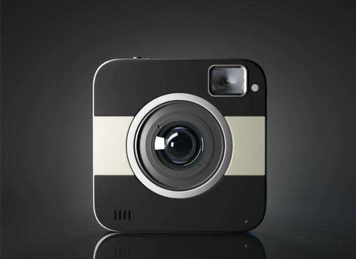 nowoczesna kamera do auta