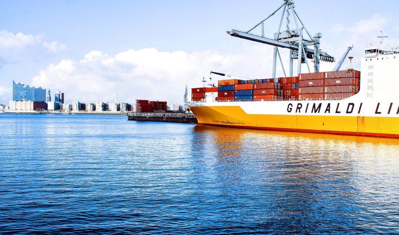 usługi logistyczne w transporcie morskim