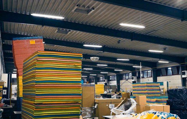 modernizacja oświetlenia w zakładzie produkcyjnym